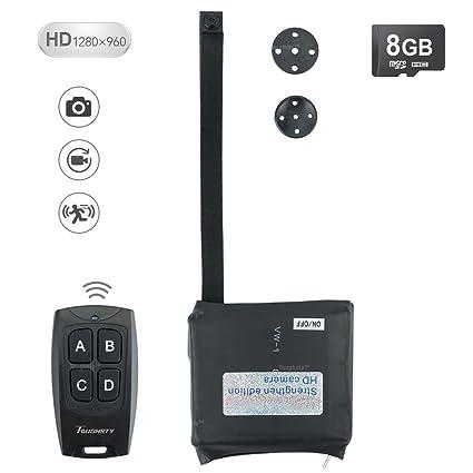 8GB Mini Cámara Espía Módulo Movimiento Activado DV Videocámara Soporta la Grabación de Video Continua DE
