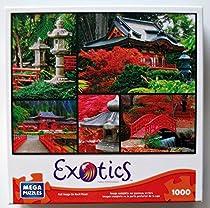 Japanese Gardens 1000 Piece Exotics Mega Puzzle - Beautiful