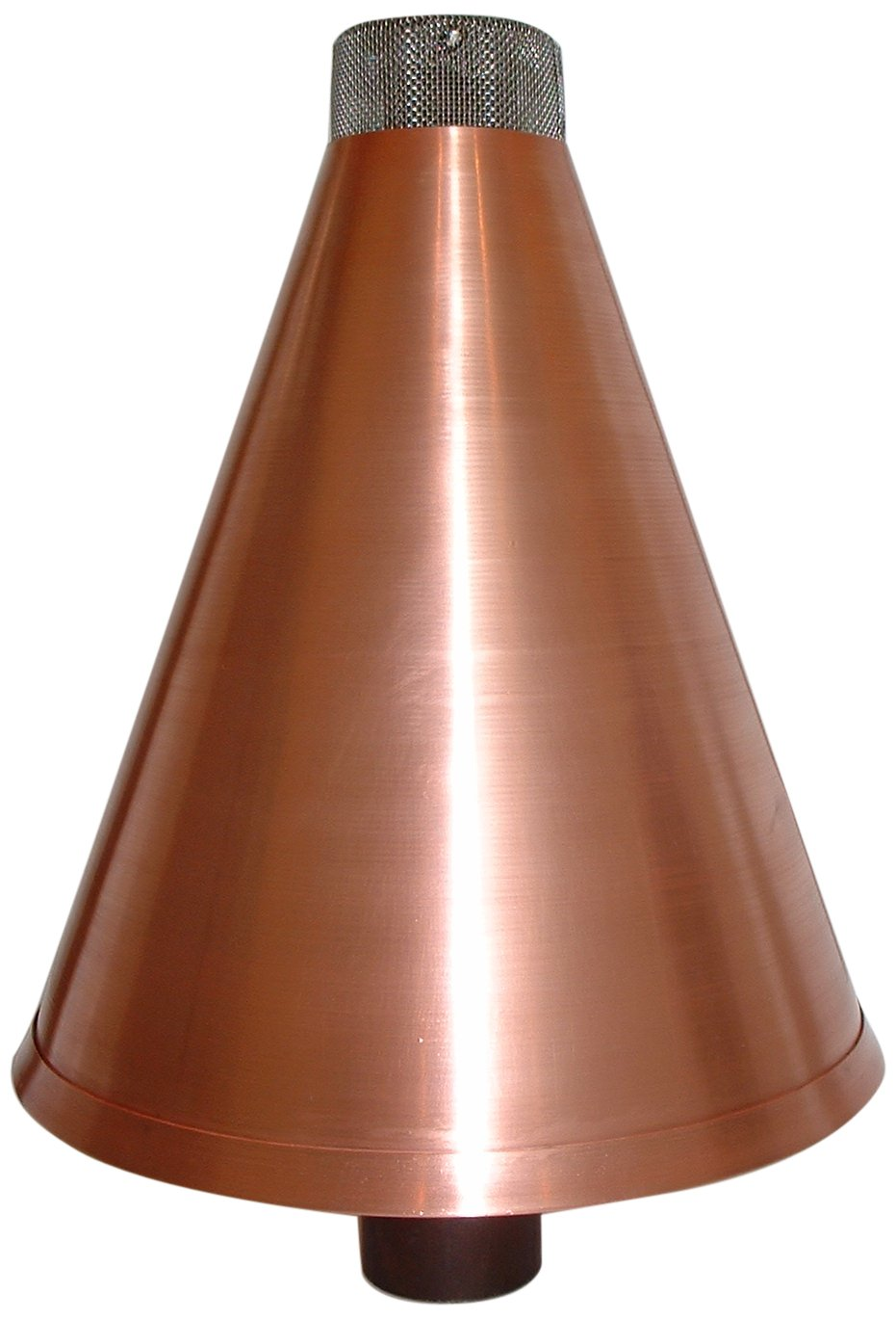 Burnaby Manufacturing Propane Tiki Torch Cone, 1-Inch, Copper Color