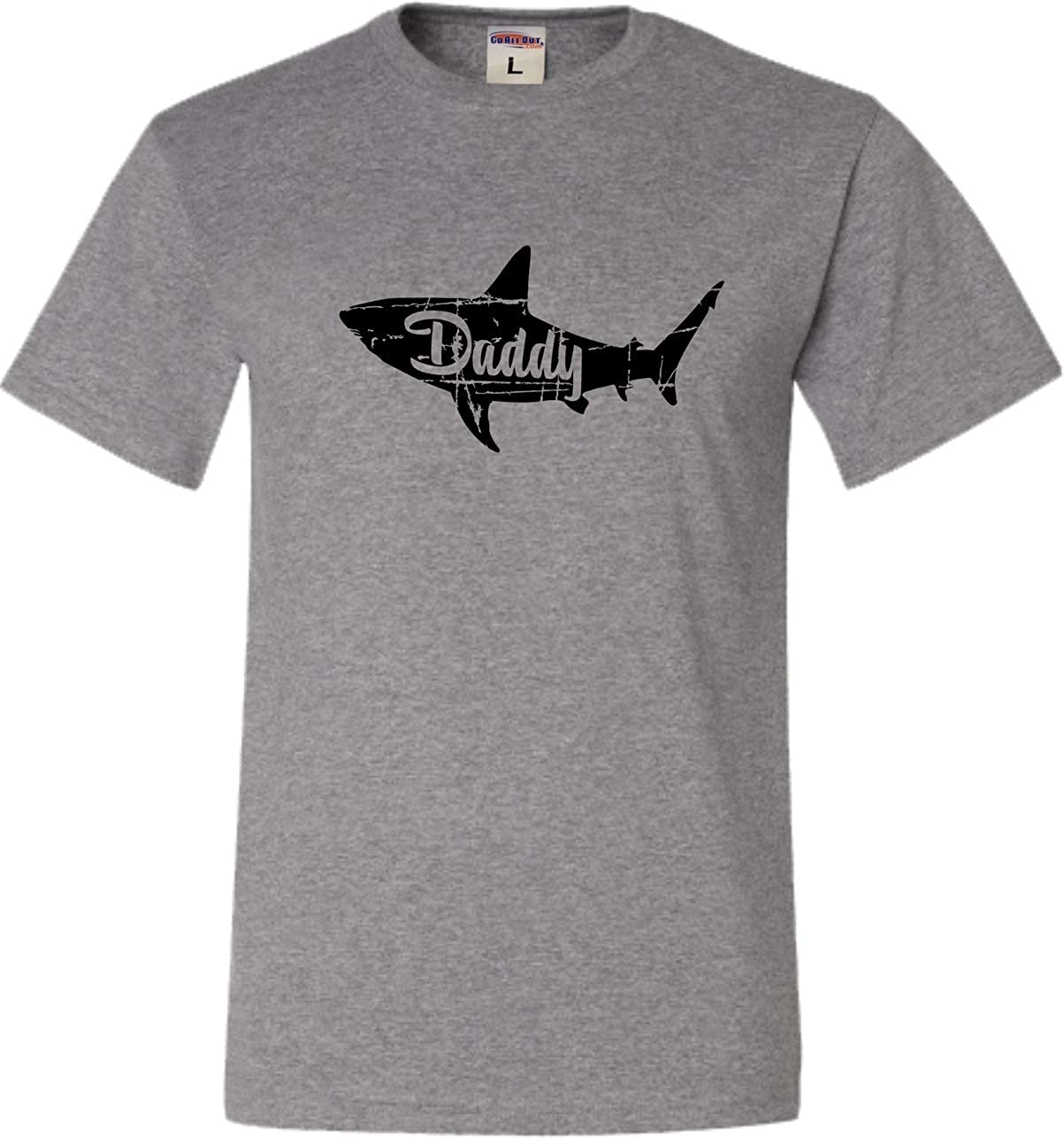 Go All Out Adult Fashion Daddy Shark T-Shirt