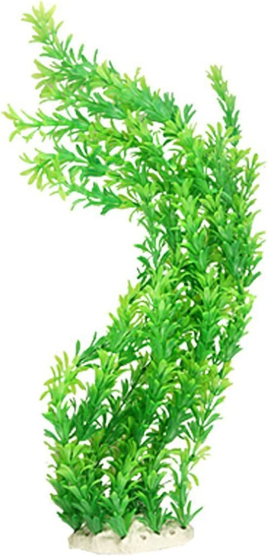 "B01M08LD57 Saim 24"" Green Leaves Emulational Aquatic Plastic Plant for Fish Tank Aquarium 61ZJ2CdXo7L"