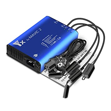 ZEEY 5 en 1 Batería Cargador (3 baterías y 2 Puertos USB ...