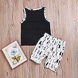 Baby Boys Girl's Summer Cotton Sleeveless T-Shirt