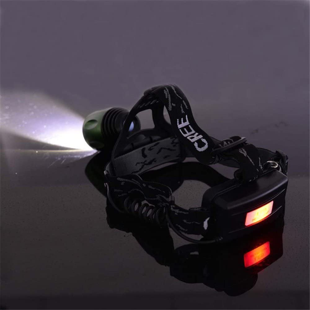C.W.USJ LED Light Headlight Rechargeable Headlamp T6 Zoom Head Lamp LED Head Light Flashlight Lantern led Light Night