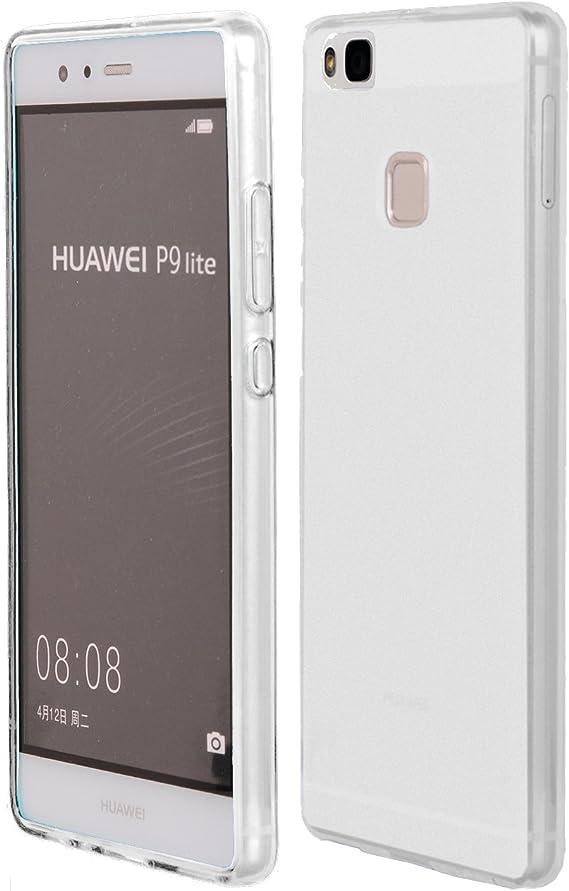 Meloenvias Funda Carcasa para Huawei P9 Lite Gel TPU Liso Mate ...