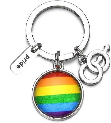 FOR PRIDE LGBTQ Keychain