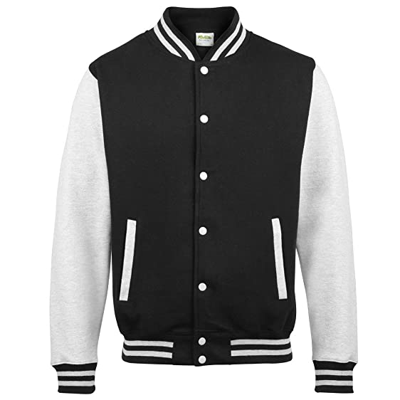 AWDis Just Hoods Women's Varsity Jacket. Letterman baseball Jacket ...