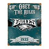 Party Animal NFL Embossed Metal Vintage