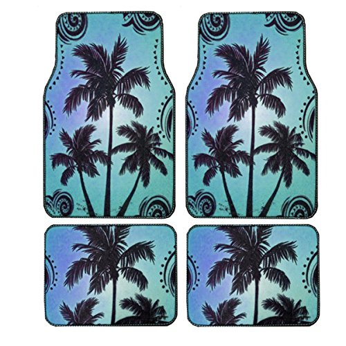 tropical car floor mats - 8