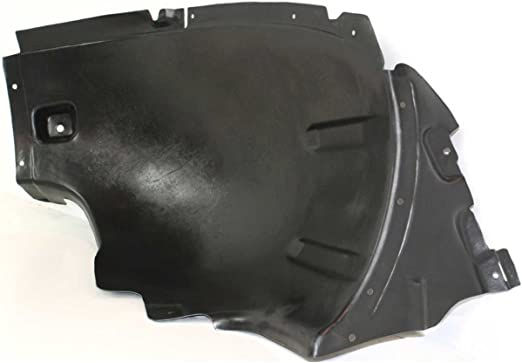 Without Off Road Package MB1248125 New Front Left Driver Side Fender Liner For 2006-2011 Mercedes Benz Ml-Class Front Section