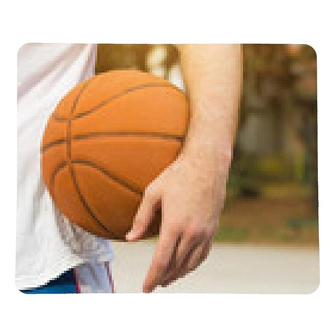 my-puzzle-design alfombrilla de ratón El jugador de baloncesto en ...