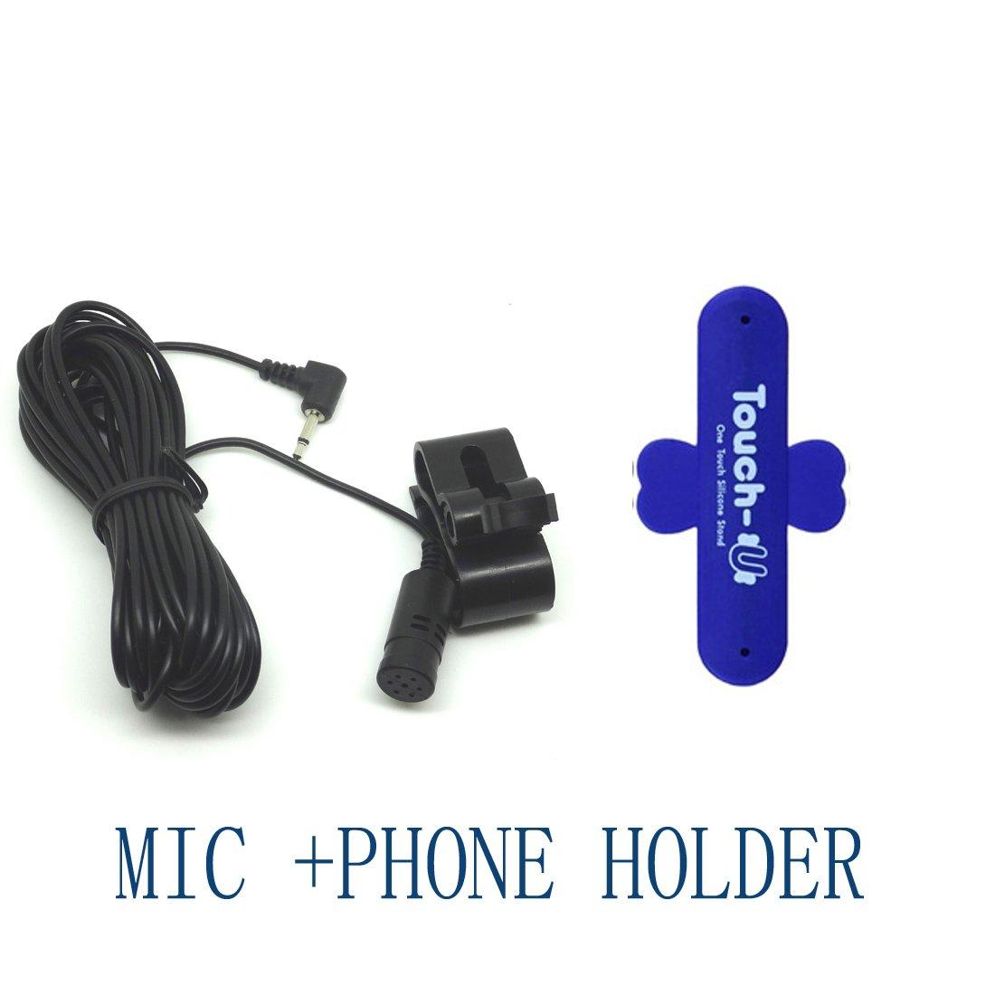 Mic Microphone Car Radio Cd Player Stereos Bluetooth For Avh 3200bt Pioneer P3200bt Gps Navigation