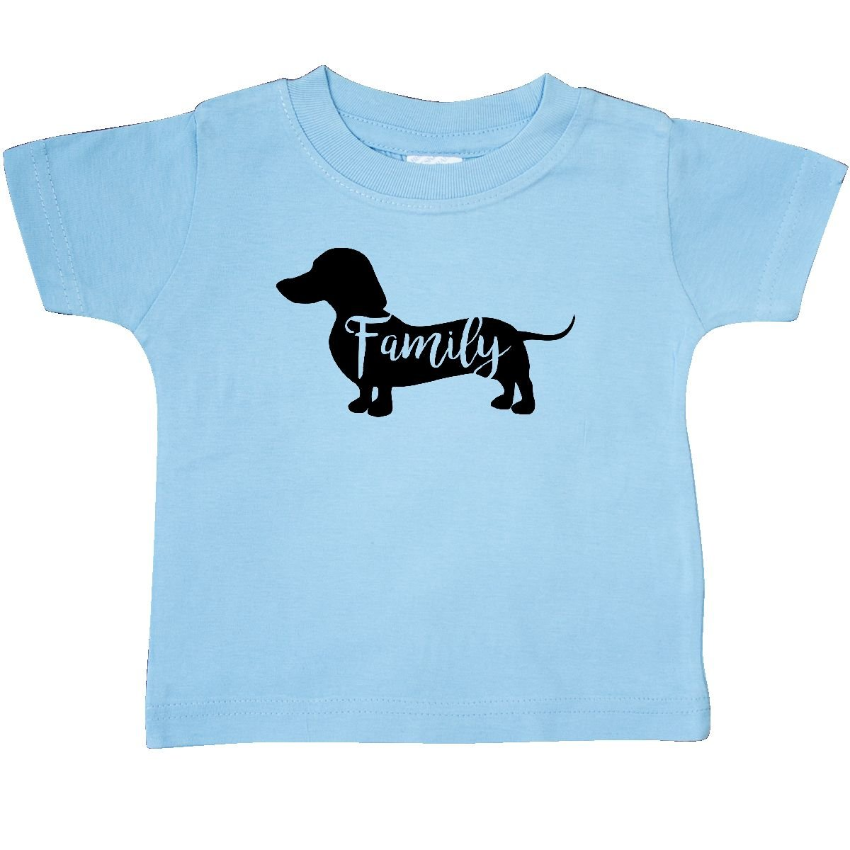 123df51ab Amazon.com: inktastic - Family Dog- Short haired Dachshund Baby T-Shirt  2d276: Clothing