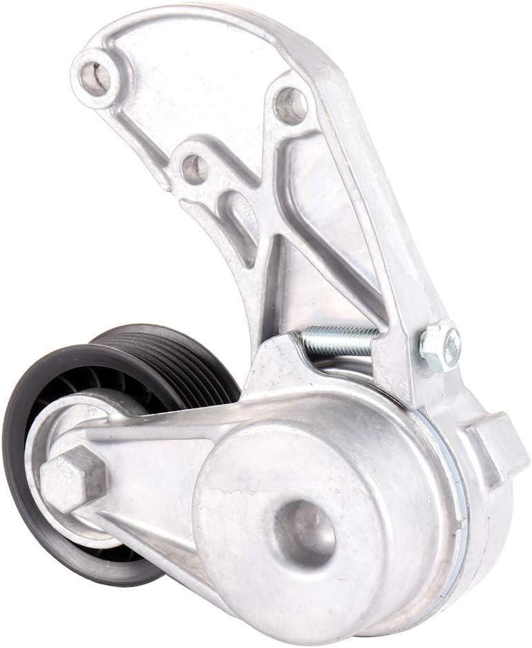 Belt Tensioner Fit for 2007-2010 Audi Q7 2004-2014 Porsche Cayenne 2004-2016 Volkswagen Touareg INEEDUP Engine Serpentine timing Belt Tensioner