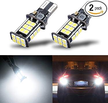 AllaLighting LED 921 BackUp Reverse Light Bulb Lamp,High Center Brake Stop White