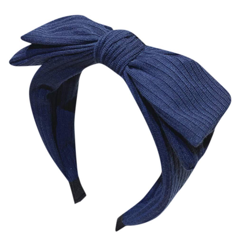 NISOWE Bandeau en arc solide pour femme accessoires de coiffure cr/éatifs Bandeau,/Élastique /à cheveux /élastique vintage