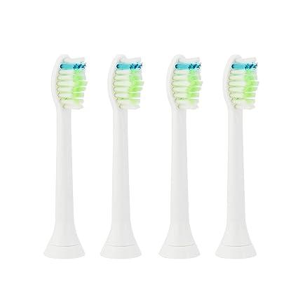 LIVHÒ | Cabezales de repuesto para cepillo de dientes électrico Philips Sonicare (4 piezas P
