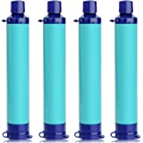 Membrane Solutions Portable Water Filter Straw Filtration Straw Purifier Survival Gear for Hiking, Camping, Travel, and…