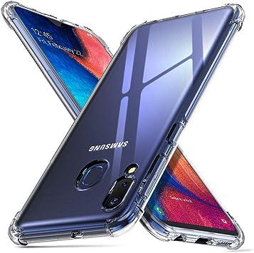 ORNARTO Funda Samsung A20e,A20e Carcasa Silicona Transparente ...