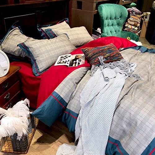 XMDNYE Ponçage De 60 Couette, Fibres De Coton, 4 Housses De Couette, 60 Coton, Literie Chaude pour L'Automne Et l'hiver, Un Lit De 1,8 M (6 Pieds) 9cc141
