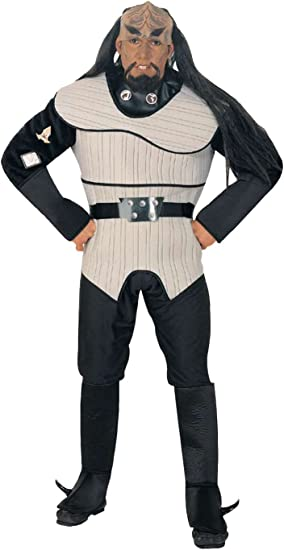 Disfraz de Klingon Star Trek La Nueva Generación para hombre ...