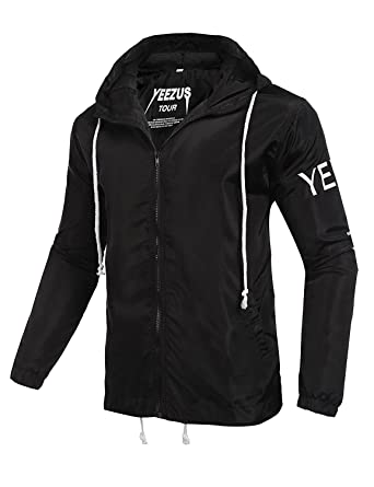 6e4758ce8 Popular Yeezus Tour Limited Edition yzy Streetwear Windbreaker Thin Pablo  Jacket  Amazon.co.uk  Pet Supplies