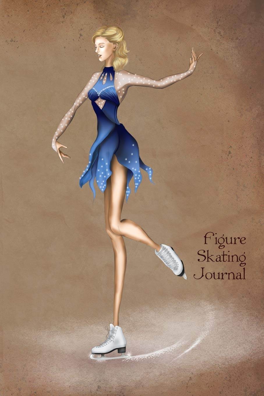 Figure Skating Journal Vintage Style Fashion Illustration Soft Cover Journal Diary Notebook With Lined Pages Journals Vintage Fashion 9781725674738 Amazon Com Books