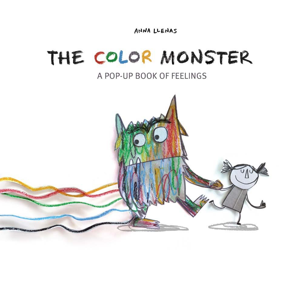 The Color Monster: A Pop-Up Book of Feelings