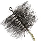 8 chimney brush - Rutland Products 16408 8-Inch Round Chimney Cleaning Brush