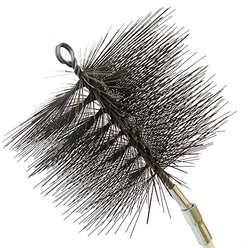 (Rutland Products 16406 6-Inch Round Chimney Cleaning Brush)