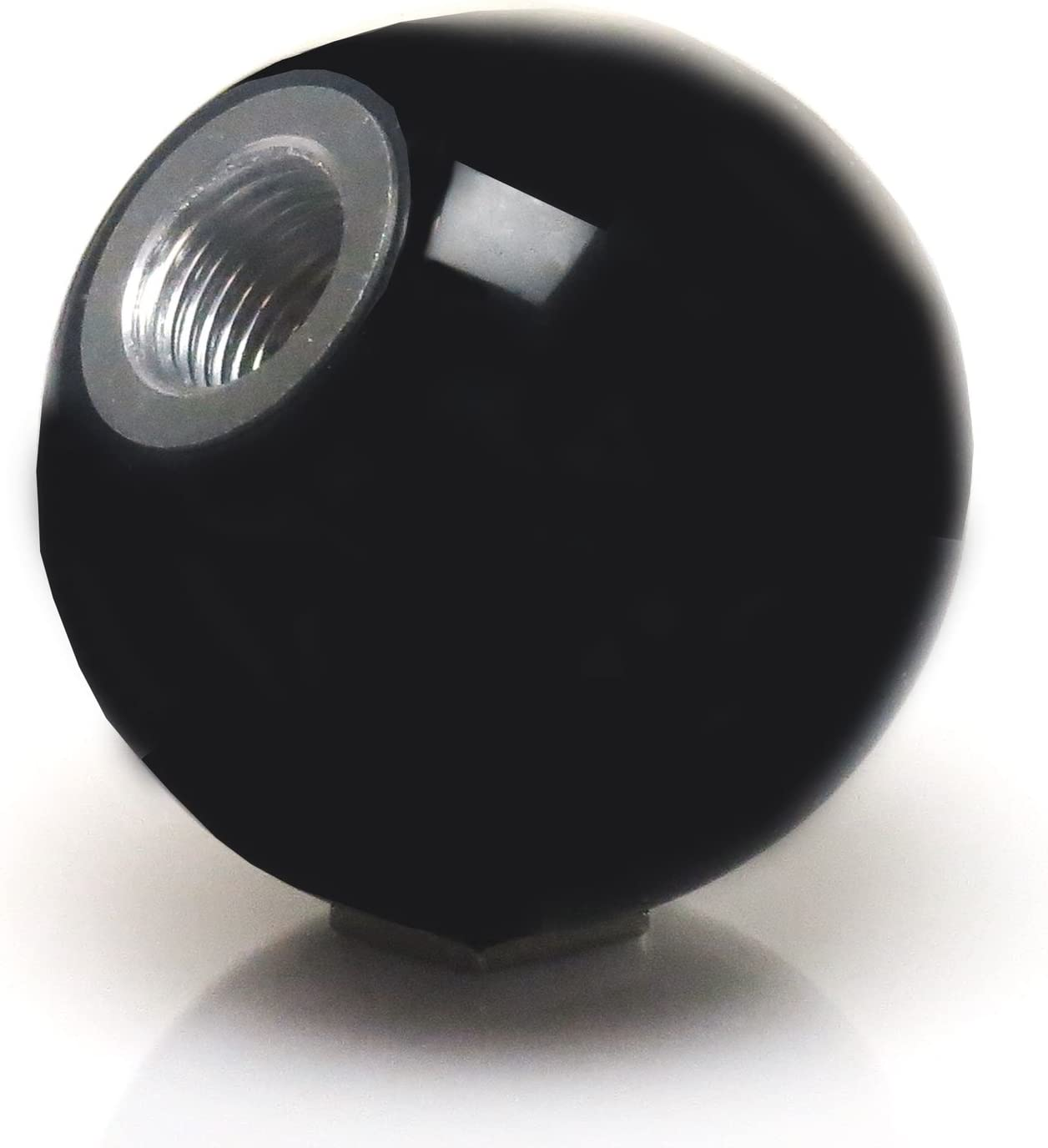 American Shifter 109712 Black Shift Knob with M16 x 1.5 Insert White 4 Stars
