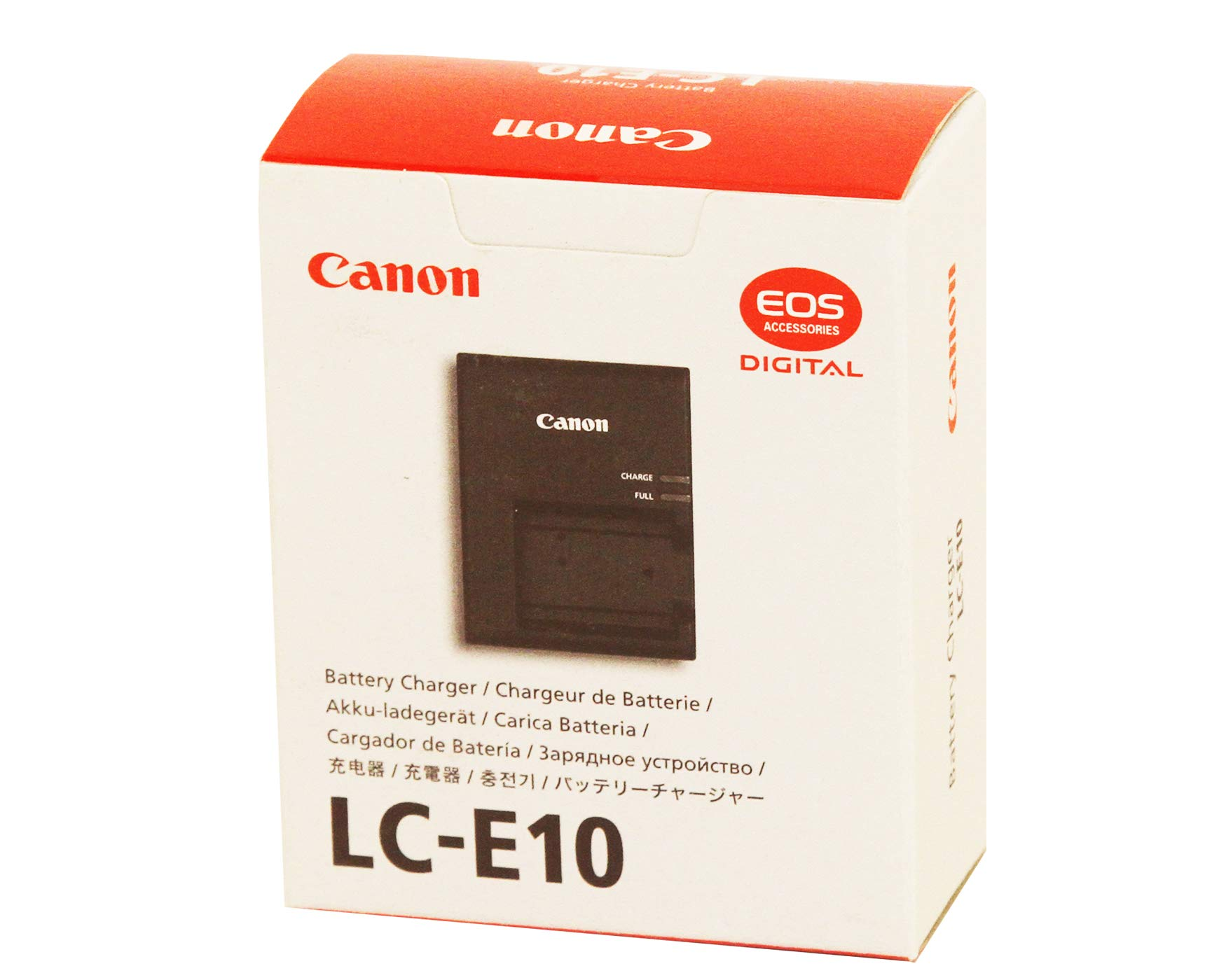 Canon LC-E10 Battery Charger for EOS Rebel T3, T5, T6 by Canon Accessories