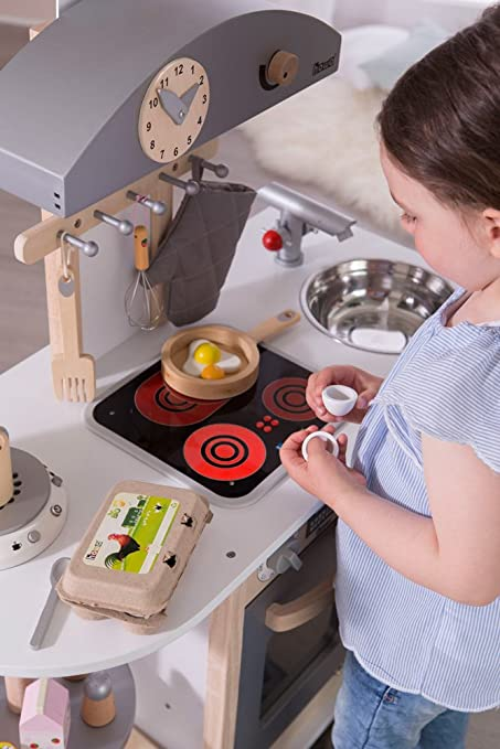 Amazon.com: Deluxe – Cocina de juguete de madera: Toys & Games