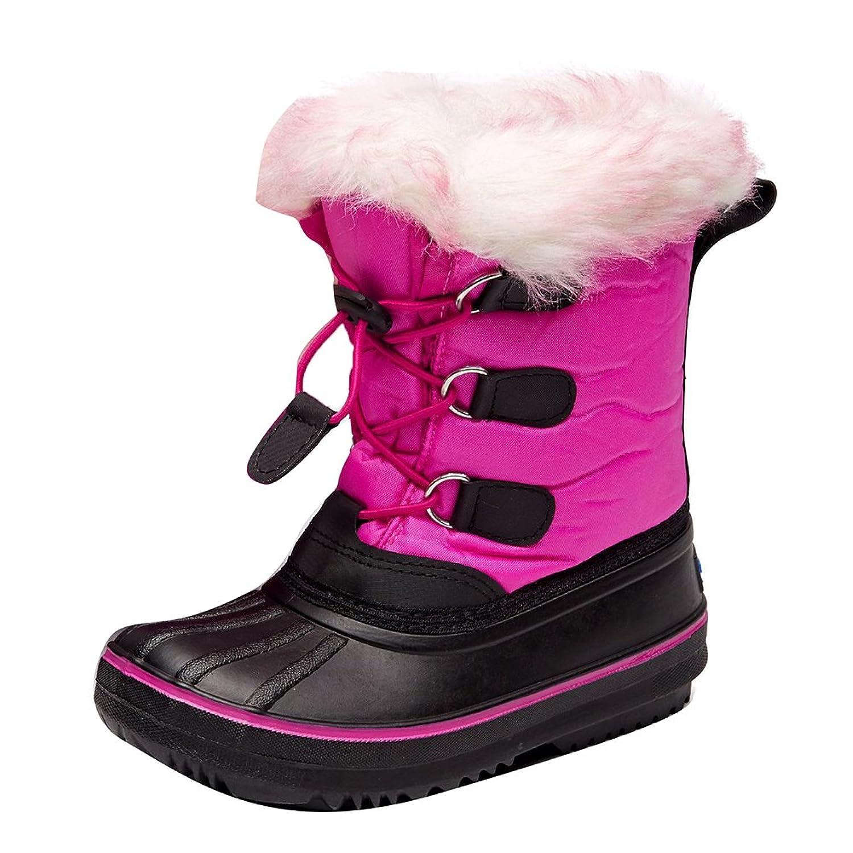 bd4be4ec5d2cf Hibote Bottes de Neige Enfant - Unisexe Fille Garçon Boots Hiver Chaudes  112704