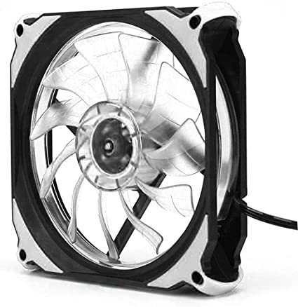Pgige Eclipse 120mm LED Cooling Cooler Ventilador Estuche para ...