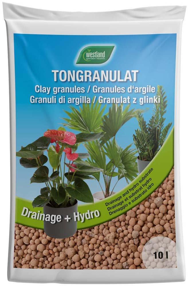 40 L Blähton I Pflanzgranulat I Drainage Tongranulat I natürliches Pflanzsubstrat