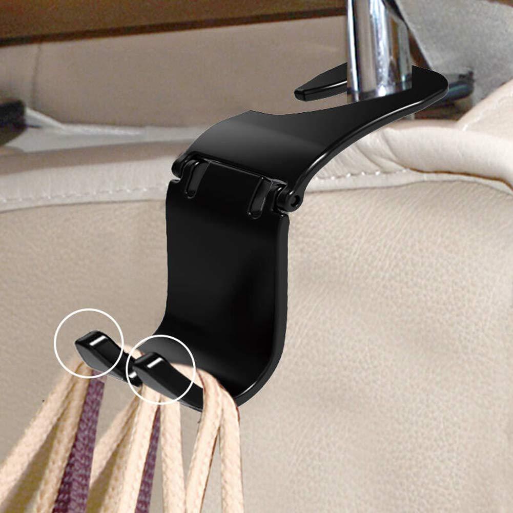 MYGYSJK Pezzi di plastica Auto Sedile Posteriore poggiatesta Gancio Storage Hanger Holder