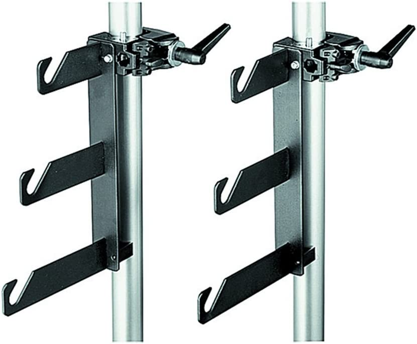 Manfrotto 044 B/P Clamps-2 Holder Hooks 045 Mounted on 2 Superclamps 035 61ZJI7zwKZLSL1000_