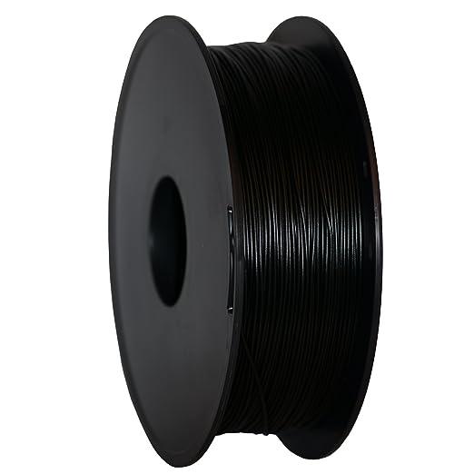150 opinioni per GEEETECH Filamento PLA 1.75mm 1kg Spool per Stampante 3D, Nero