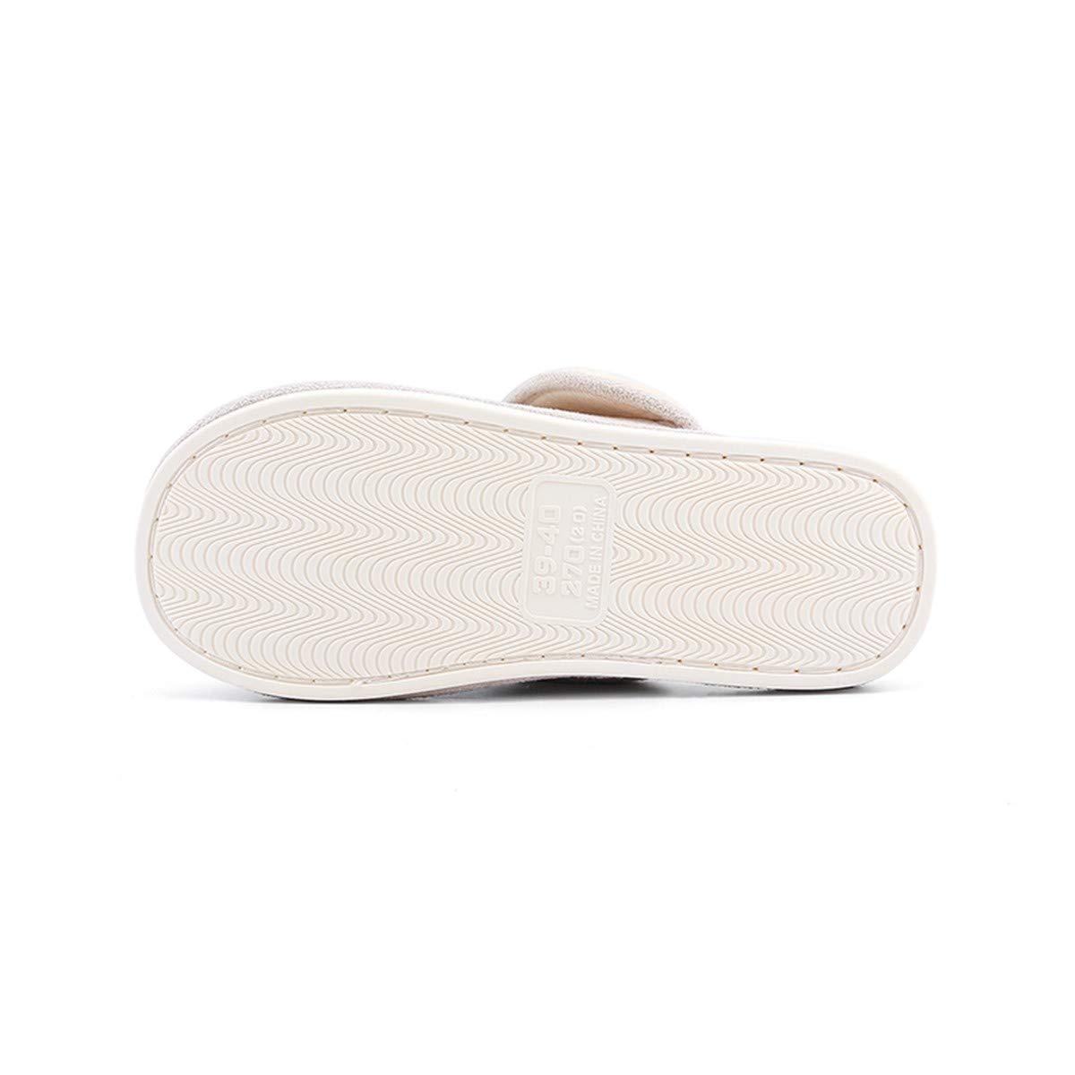 de cálido algodón Zapatillas Lianaio antideslizante P0wn8Ok