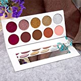 10 color eye shadow golden onion powder , certainPL Renaissance Eye Shadow Makeup Cosmetic Shimmer Matte Eyeshadow Palette (A)