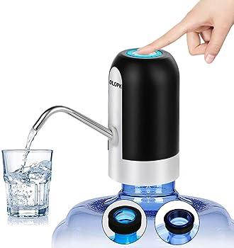 DLOPK Dispensador de Bomba de Agua Distribuidor de Carga USB