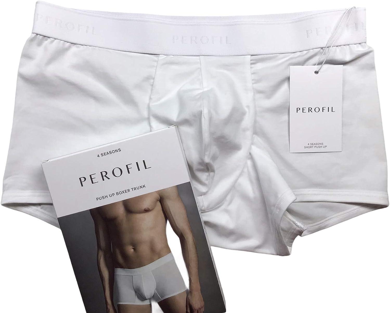 Boxer slip short push up intimo uomo in cotone interno elasticizzato Perofil