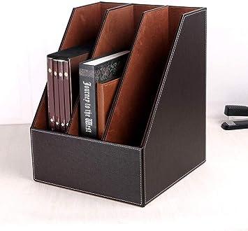 3 Shelf Magazine File Holder Rack Book Organiser Document A4 Desk Stand Storage