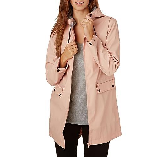 Minkpink Rain Mac, Abrigo Impermeable para Mujer