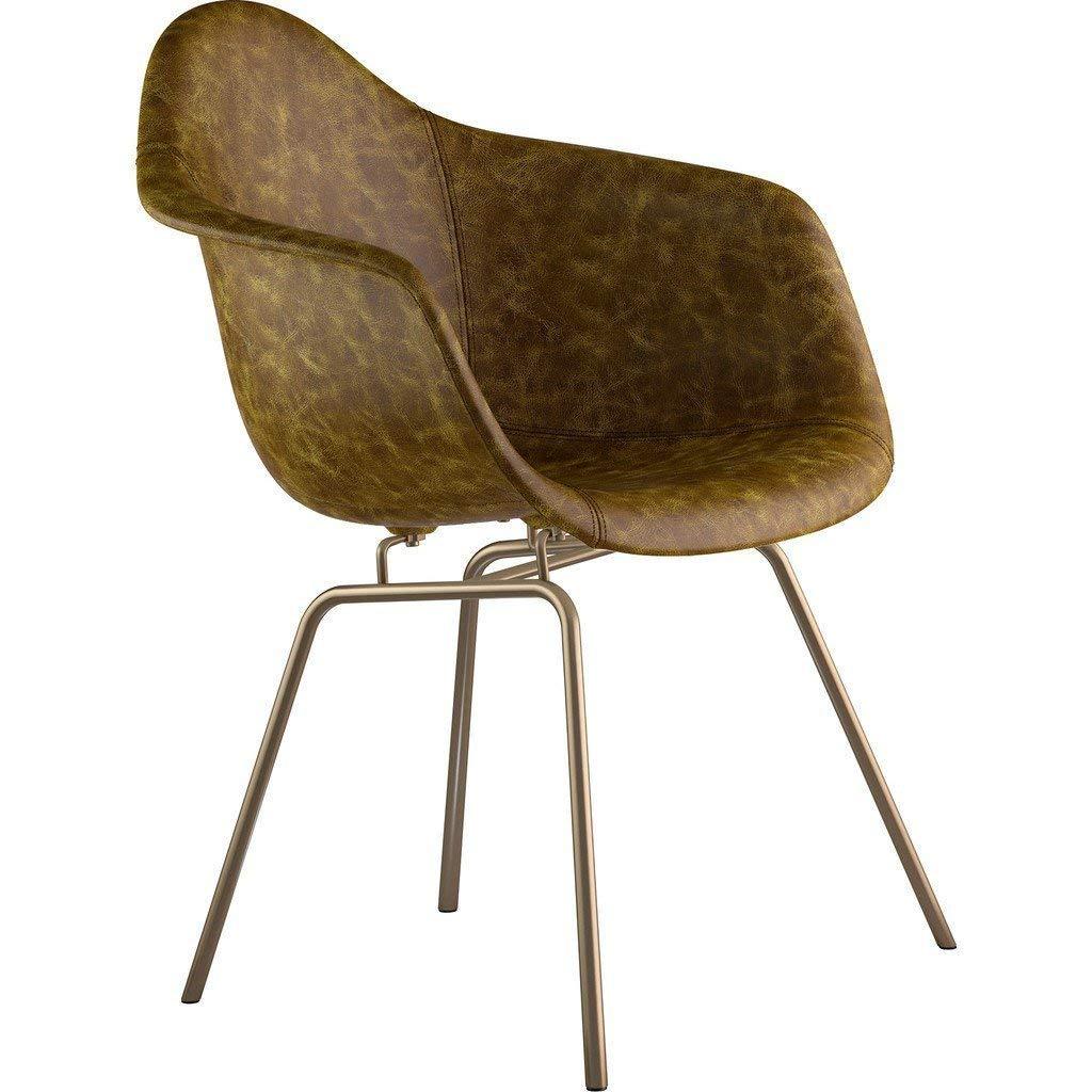 NyeKoncept Mid Century Klassenzimmer Arm Stuhl Brass Finish B0743P3MTP   Export    Neues Produkt    Gemäßigten Kosten