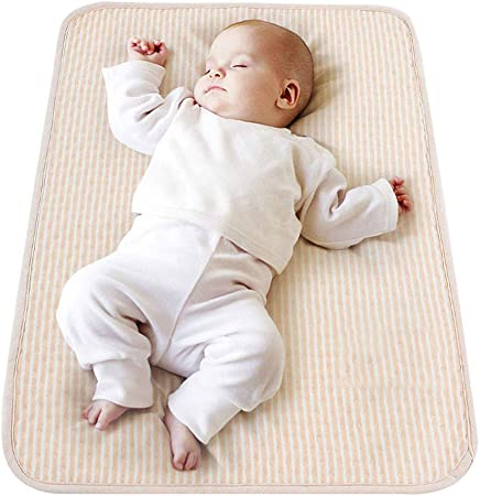 Bebé Lavable Impermeable Somier Impermeable Hoja de Incontinencia Protector de Colchón para Niños, Niños y Mascotas por Beey (20x28 pulgadas)