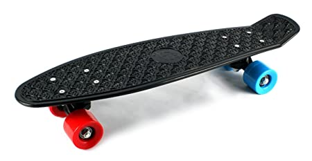 VT Retro Wave Cruiser Complete 22 Banana Skateboard Black