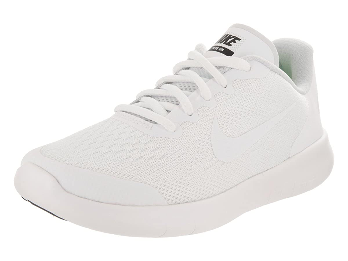 White//White Black Running Shoe 1 Kids US Nike Kids Free Rn 2017 PS