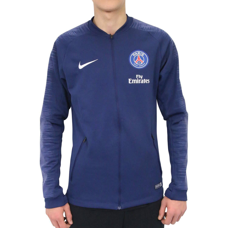 NIKE Mens Paris Saint Germain PSG Anthem Jacket (Navy) Size XL